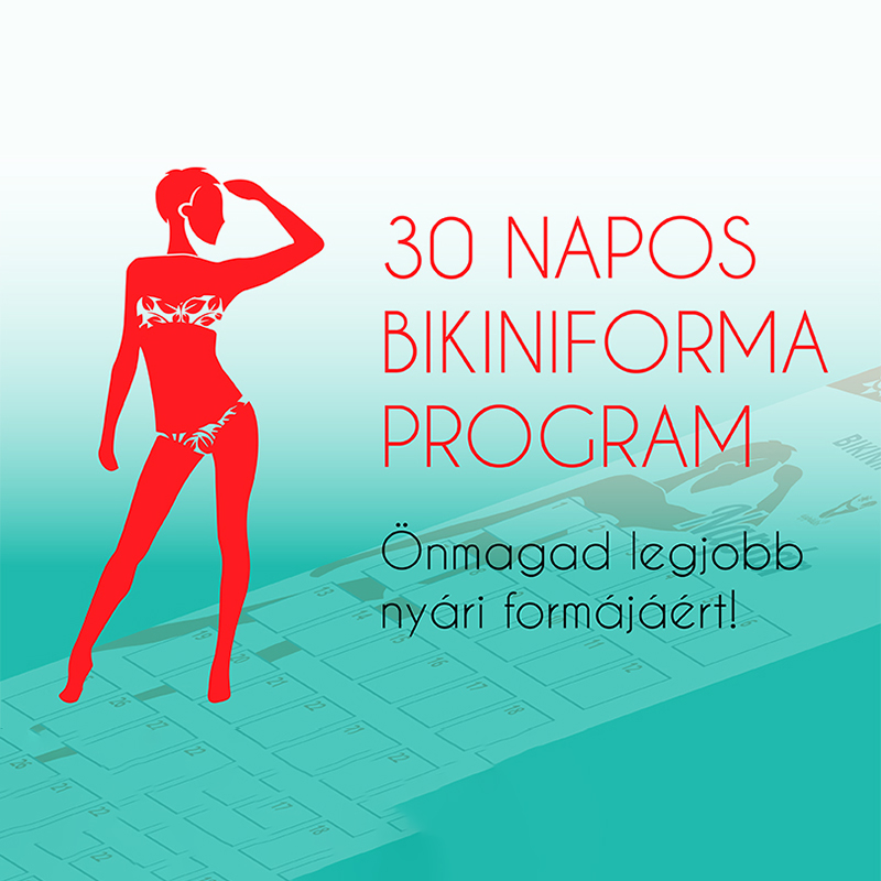 30 napos Bikiniforma Program